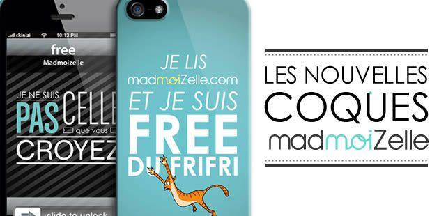 Découvrez les nouvelles coques iPhone madmoiZelle.com !