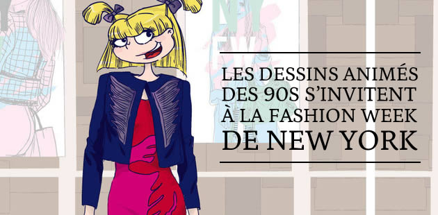 Les dessins animés des 90s s'invitent à la Fashion Week de New York