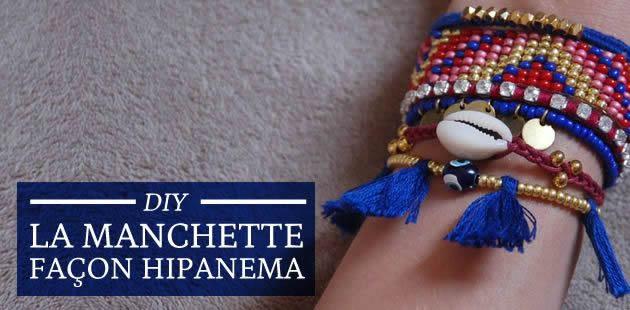 DIY — La manchette façon Hipanema