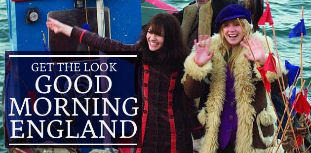 Get The Look des 60's — Spécial Good Morning England !