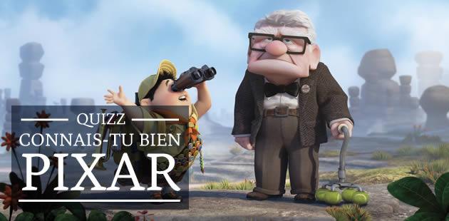 Quizz — Connais-tu bien Pixar ?