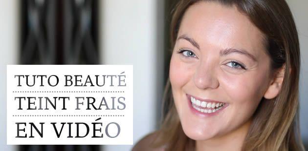Un joli teint frais – Tuto Beauté vidéo