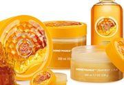The Body Shop lance sa gamme Honey Mania