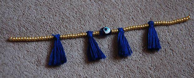 bracelet pompon diy