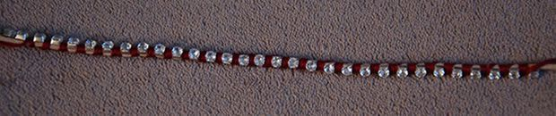DIY — La manchette façon Hipanema bracelet strass