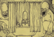 Lien permanent vers Des cauchemars dessinés sur des Post-it