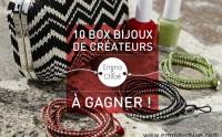 Concours — 10 box de bijoux Emma & Chloé à gagner !