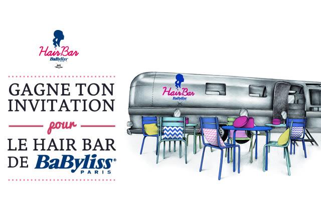 Hair Bar BaByliss Paris : venez gagner vos places !