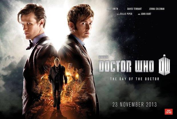 Doctor Who : premier trailer pour lépisode anniversaire des 50 ans ! doctor who 50th anniversary