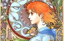 Les films de Miyazaki revus façon Art Nouveau