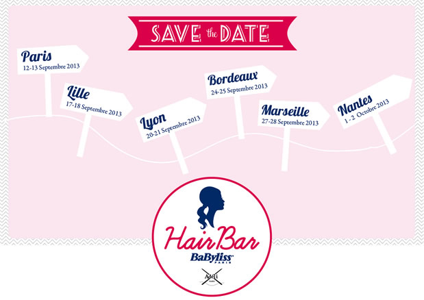 hairbarbabyliss Hair Bar BaByliss Paris : venez gagner vos places !