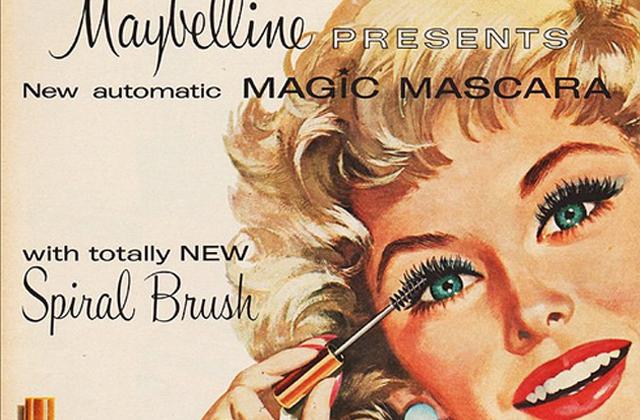 Histoire de la beauté — Le mascara