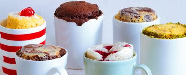 Mug Cakes, le livre de recettes des gâteaux express mug cakes 2