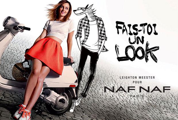 Leighton Meester pour Naf Naf : la campagne dévoilée nafnaf21