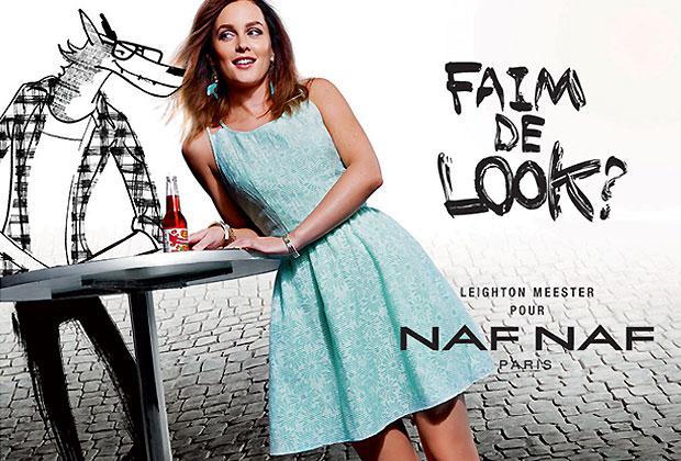 Leighton Meester pour Naf Naf : la campagne dévoilée nafnaf3