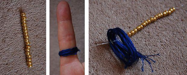 DIY — La manchette façon Hipanema perles pompon