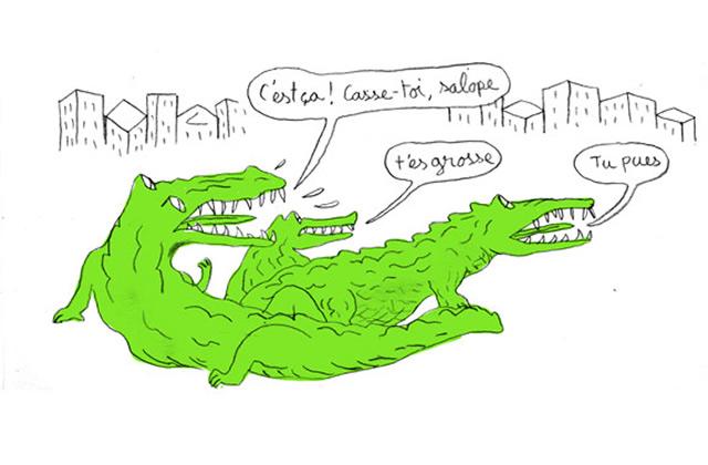 Projet Crocodiles — Le Tumblr du moment