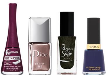 selection vernis Les tendances maquillage automne/hiver 2013 2014