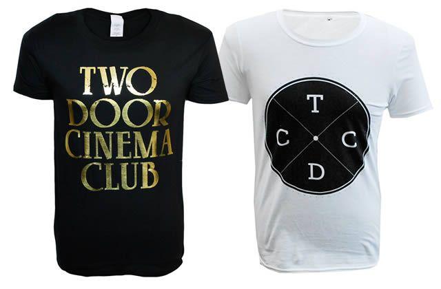 Gagne ton t-shirt Two Door Cinema Club !
