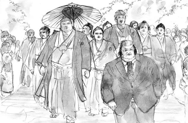 «Yokozuna » : découverte du sumotori en manga — Interview