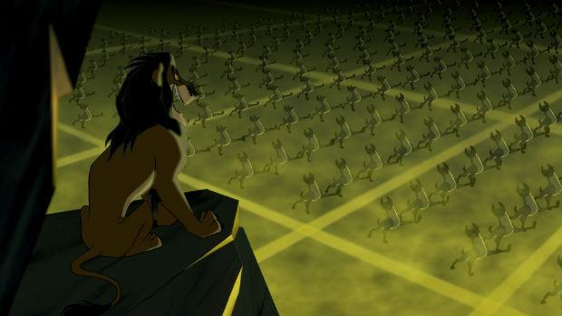 nom hyènes roi lion