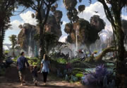 Avatar, le parc d'attractions !