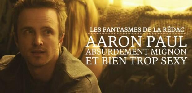 Aaron Paul, absurdement mignon et bien trop sexy — Les Fantasmes de la Rédac