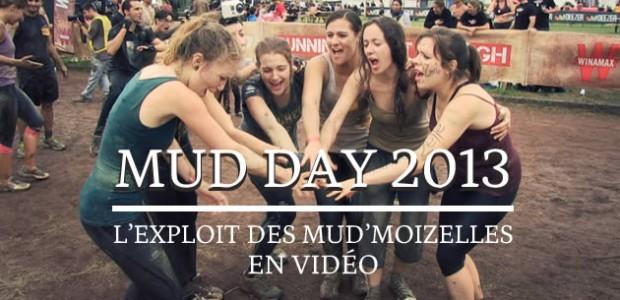 Mud Day 2013 : l'exploit des Mud'moiZelles en vidéo