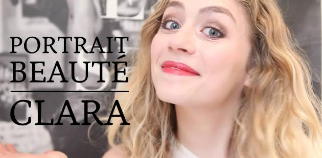 Portrait beauté — Clara