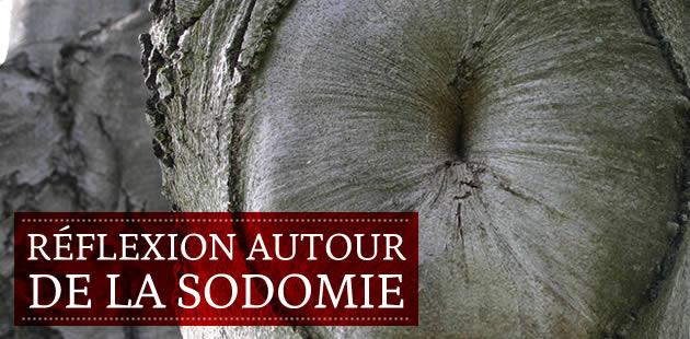 Réflexions autour de la sodomie