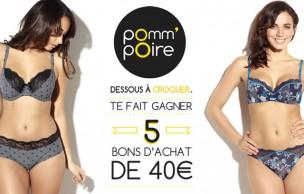 Lien permanent vers Concours — 5 bons d'achat Pomm'Poire à gagner !