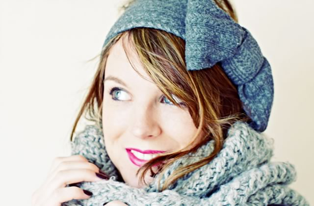 DIY — Transformez de vieux collants en headband !