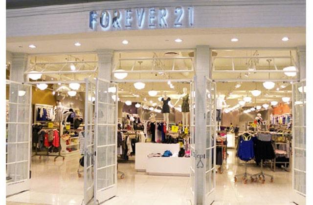 Forever 21 ouvre sa première boutique parisienne
