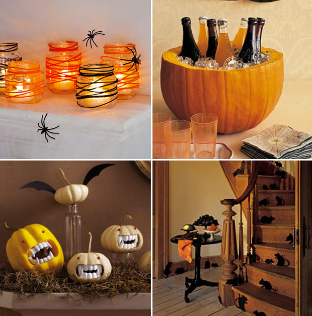 D co diy simple et rapide pour halloween 3 - Deco de table halloween a faire soi meme ...