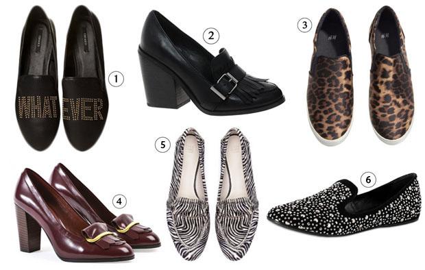 loafers1 Les tendances chaussures de lautomne/hiver 2013 2014