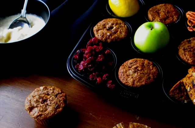 Muffins d'automne — La recette de Candy Porno