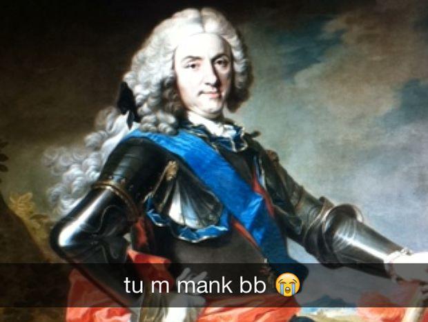 Isabelle de Bourbon Parme, entre pouvoir et sexualité — Raconte moi lhistoire... philippe v selfie