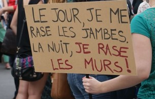 Lien permanent vers La Slutwalk 2013 — Photos et report