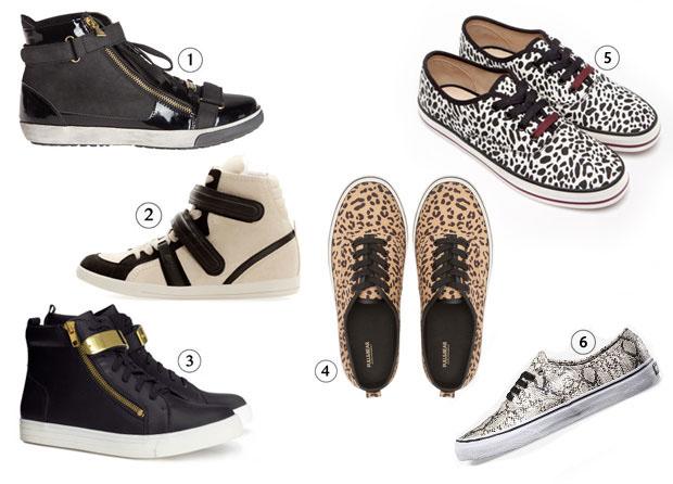 sneakers1 Les tendances chaussures de lautomne/hiver 2013 2014
