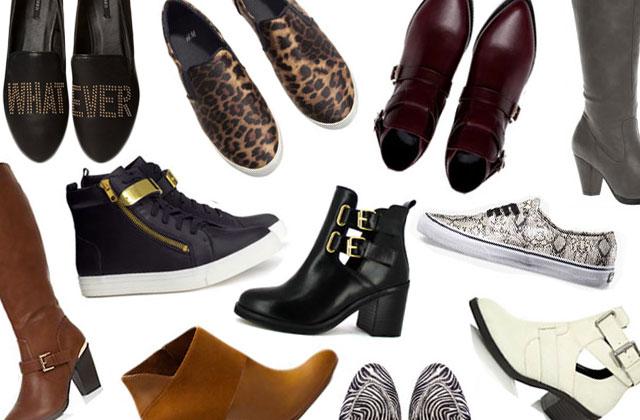 Les tendances chaussures de l'automne/hiver 2013-2014