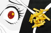 Des assiettes manga pour des plats vénères