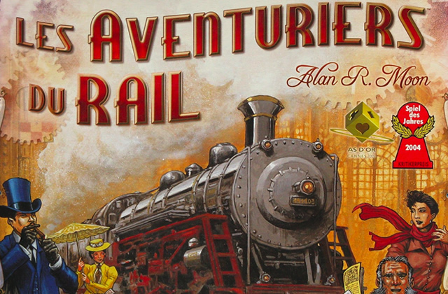 Les Aventuriers du Rail — Jouons en société !
