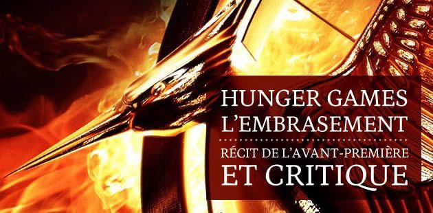 Hunger Games : L'Embrasement — Récit de l'avant-première et critique
