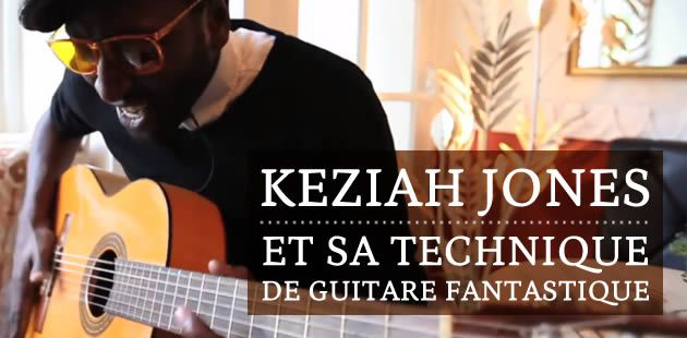 Keziah Jones et sa technique de guitare fantastique