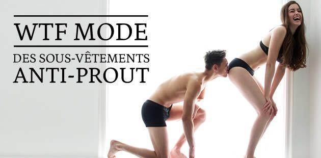 Des sous-vêtements anti-prout — WTF mode