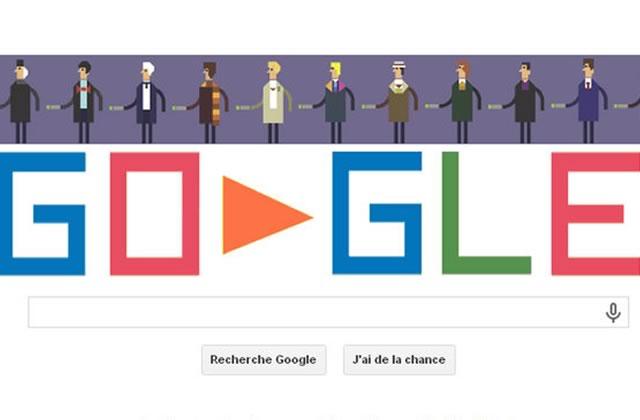 Un Doodle pour les 50 ans de Doctor Who !