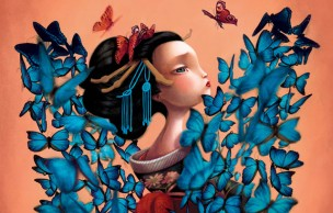 Lien permanent vers Madame Butterfly, de Benjamin Lacombe, un livre magnifique