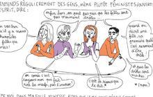 « Les filles sont drôles comme l'éclair », sur les femmes et l'humour