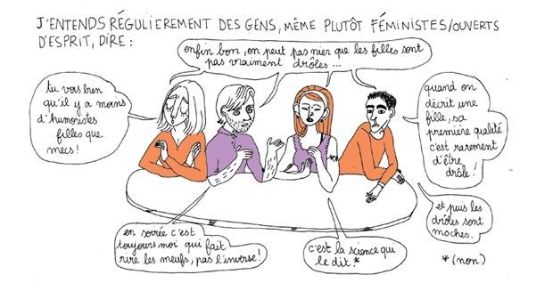 Les Filles Sont Droles Comme L Eclair Sur Les Femmes Et L Humour