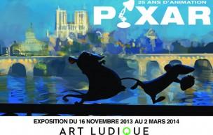 Lien permanent vers Pixar, 25 ans d'animation : les studios s'exposent à Paris !